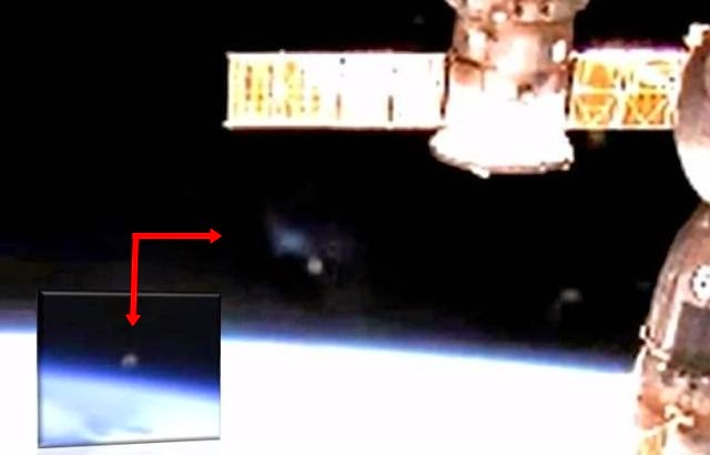 ISS Live HD Camera Caught Mysterious Grey Object Again?