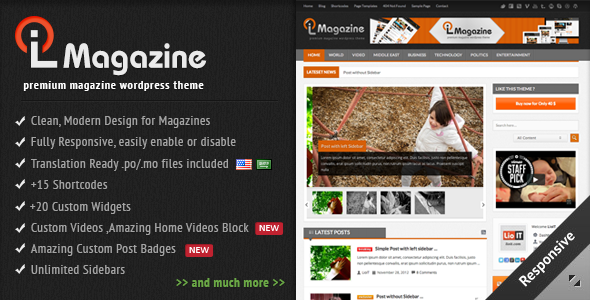 ThemeForest - LioMagazine - Premium WordPress News/Magazine