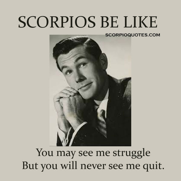 "13 ""Scorpios Be Like"" Meme 