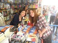 Con Elsa Punset en la Feria del Libro de Madrid 2012