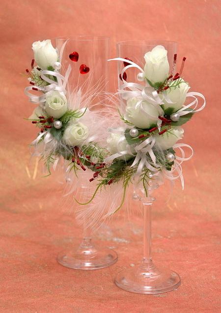 Copas de boda decoradas - Imagui