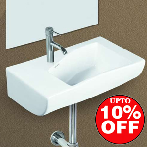 10% Off on Belmonte Wall Hung Wash Basins | Pumpkart.com