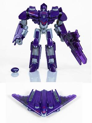 Nike x Hasbro Calvin Johnson Megatron Transformers Action Figure