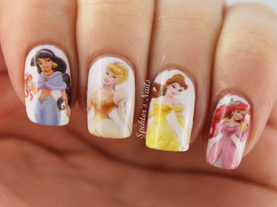 Disney Princess Water Decals
