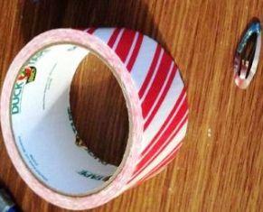 Isolasi Lakban warna, atau lakban pattern (bergambar)
