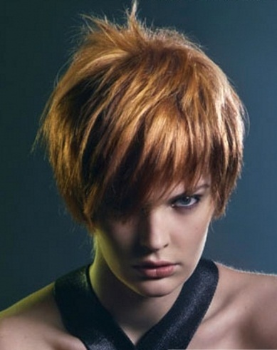 Short Tapered Hair Style 2014