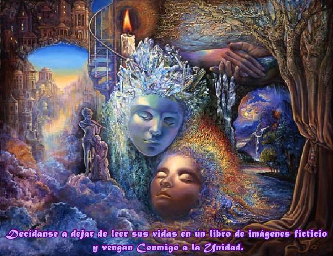 Estabas mirando un libro de imágenes, que te hizo pensar que eras tú en una vida real en la Tierra.