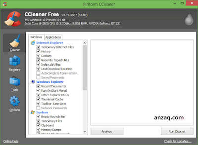 Download CCleaner Full Version free for windows 10