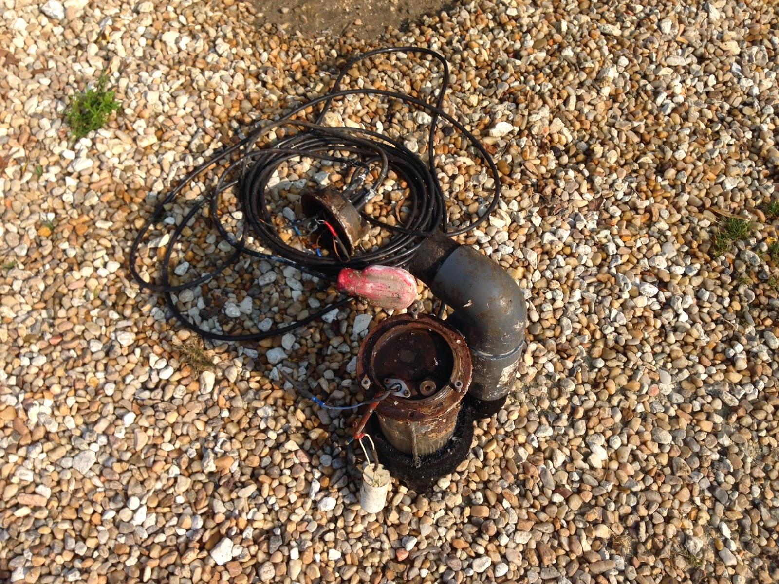 Notre projet changement pompe de relevage - Pompe de relevage leroy merlin ...