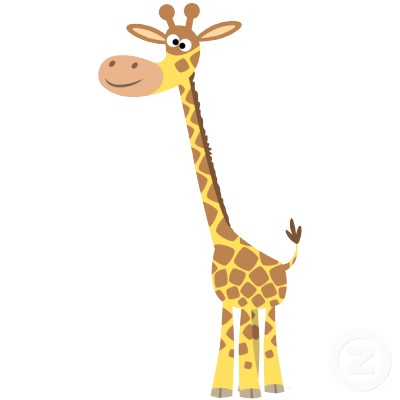 Cartoon giraffe photo picture