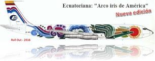 Los coloridos 707 de Ecuatoriana