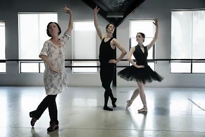 BalletTeacher in Class