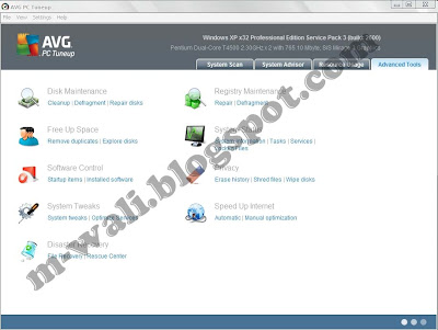 Download AVG PC Tune up 2012