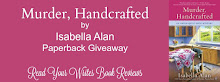 Giveaway ~ MURDER, HANDCRAFTED