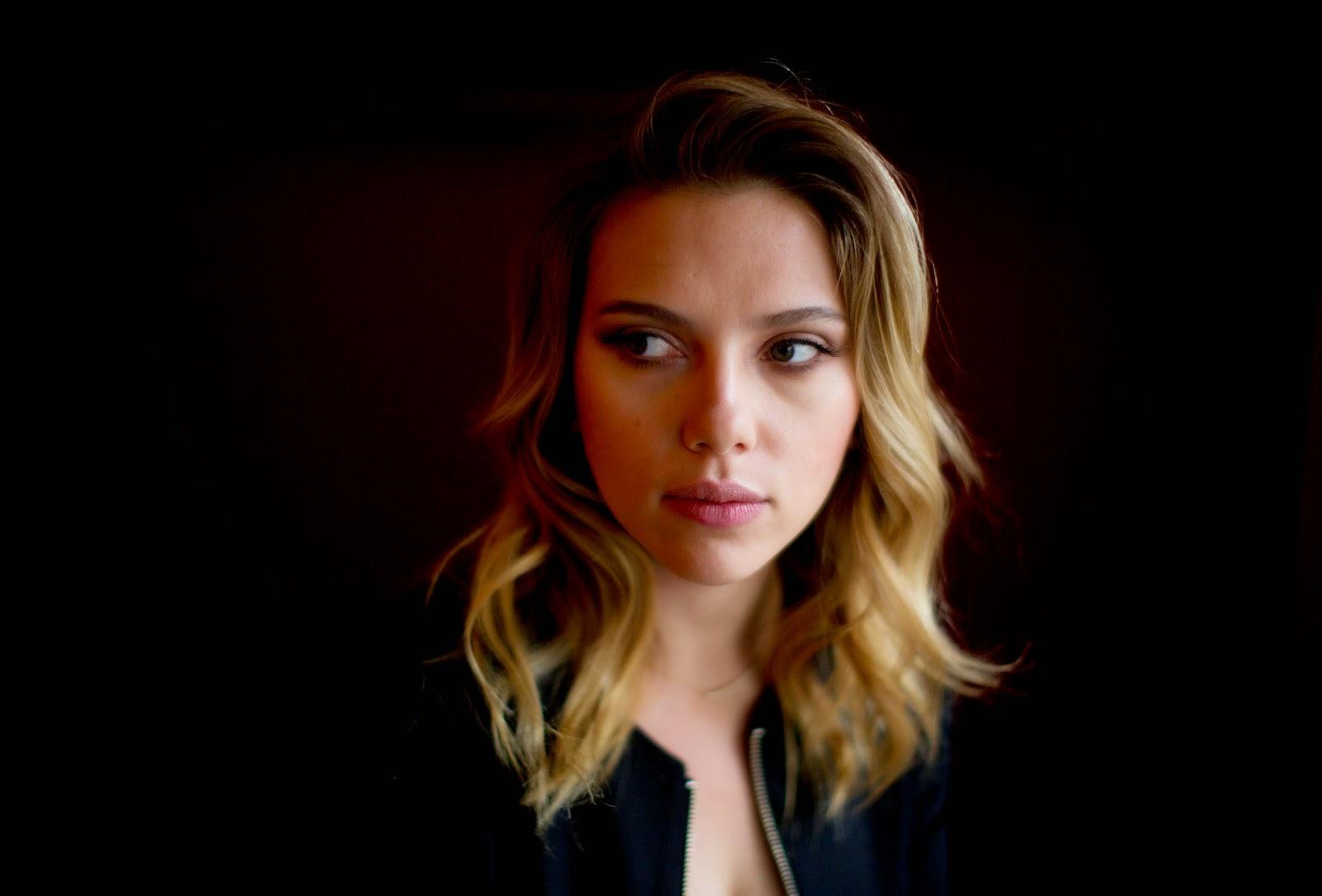 Damon Winter, retrato de Scarlett Johansson