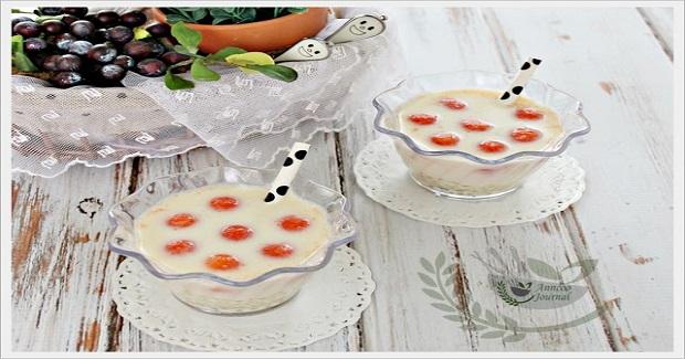 Papaya Sago Soy Milk
