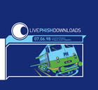 Live Phish 7/6/98 Lucerna Theatre, Prague, Czech Republic