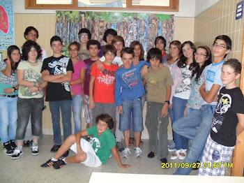 La classe de 9ºB de l´école Serra da Gardunha