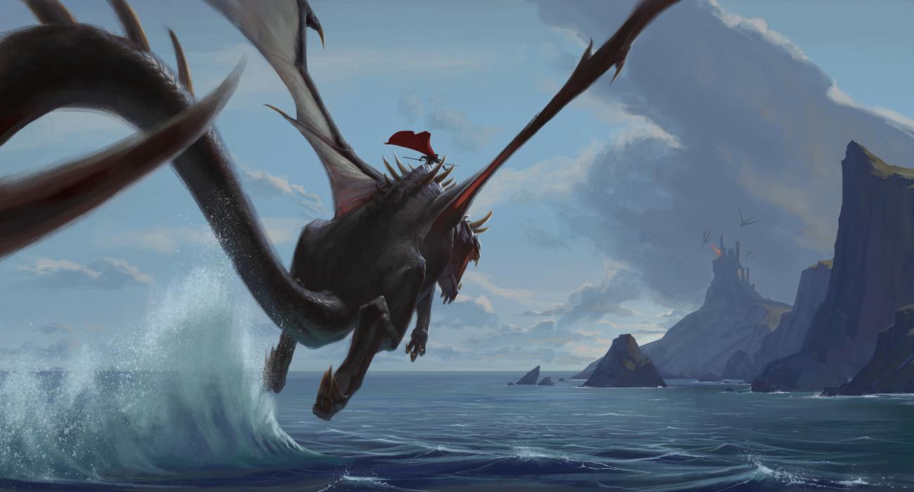 Dragon Flight Flying Fantasy Dragons