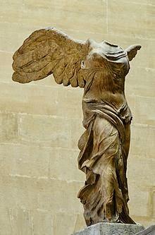 Victoria de Samotracia 306 aC