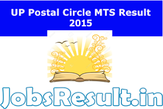 UP Postal Circle MTS Result 2015