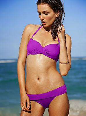 Andreea Diaconu hot model for Victoria's secret sexy bikini photoshoot