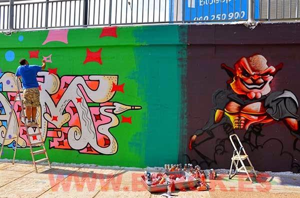 Dam pintando 2014