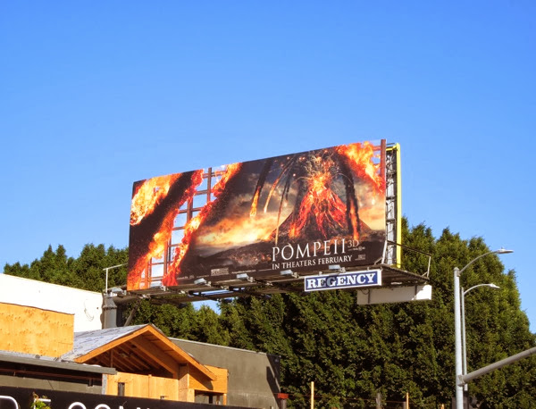 Pompeii film billboard