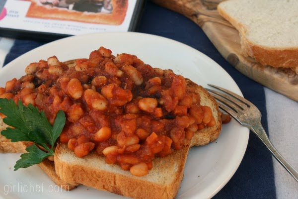 <b>Beans on Toast {from scratch}</b> <i>inspired by TOAST for food &#39;n flix</i>