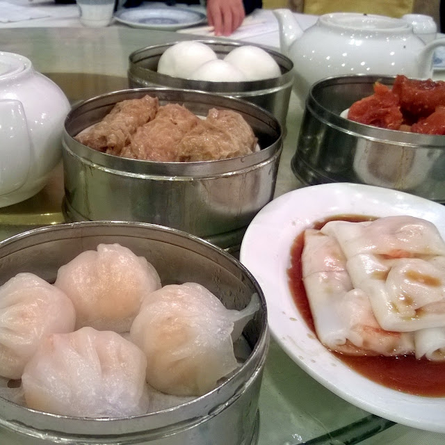 Dim Sum at Harbour Village restaurant