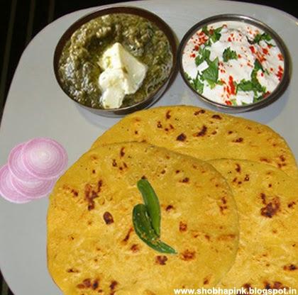 how to make makki ki roti in hindi