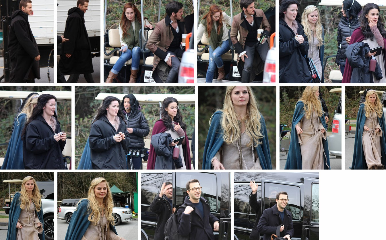 Once Upon A Time Season 3 Bts Photos 2nd April 2014