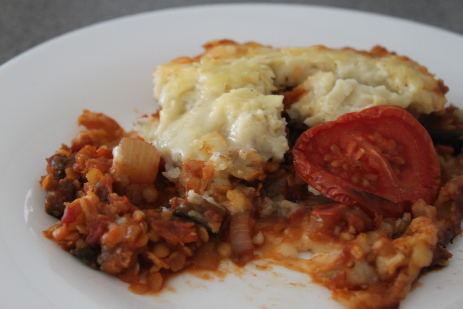 ... has moved! For this recipe, please see here: vegetarian moussaka