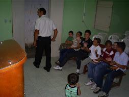Os cincos 1º Batizandos