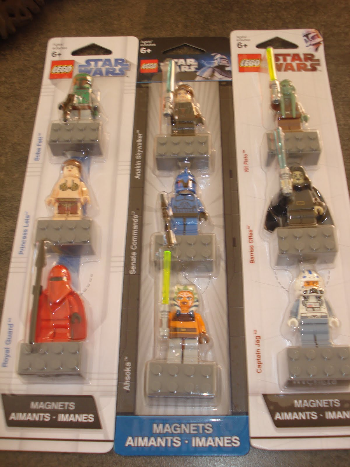Personnage star wars lego mon univers star wars en lego attakus et autre - Lego star wars personnage ...