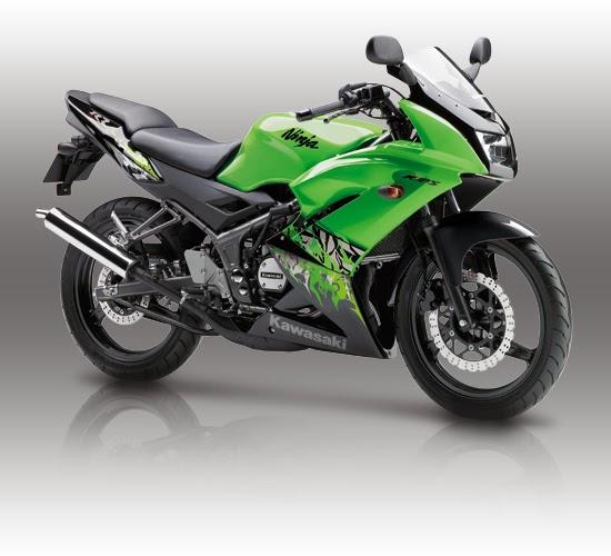 Kawasaki Ninja 150 RR Hijau