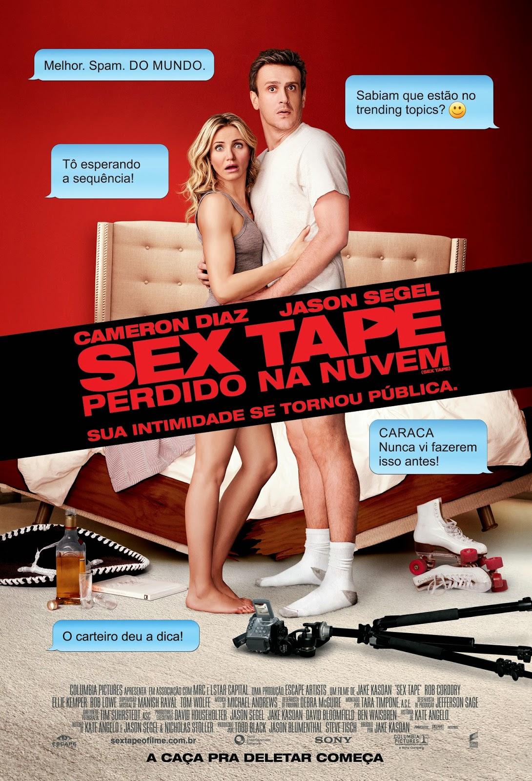 Resenha - Filme Sex Tape: Perdido na nuvem
