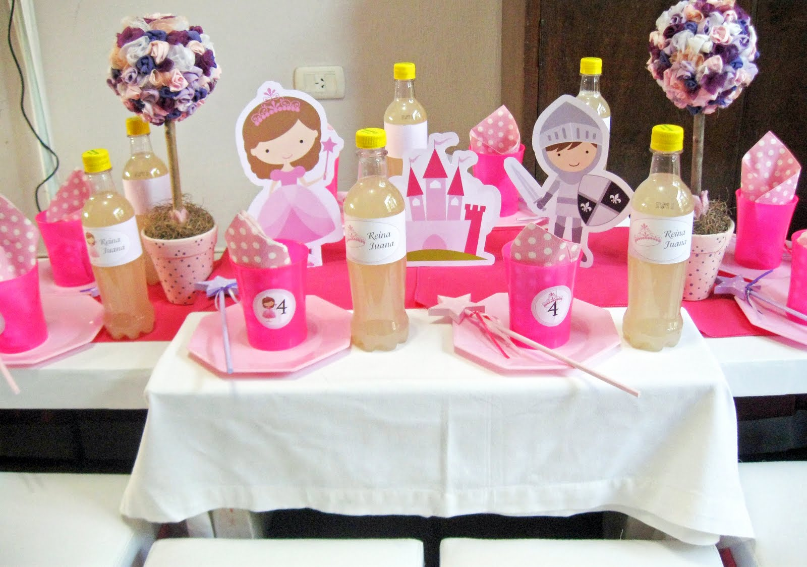 Nslittleshop party decorations and more princess party for Princess dekoration