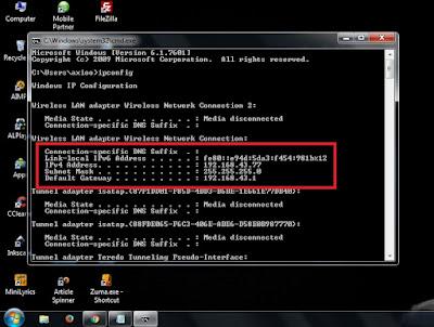 Cara Cek IP Address Komputer atau Laptop