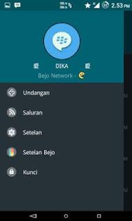 BBM MOD Bejo V4.0 Material Dark V 2.9.0.51 Apk
