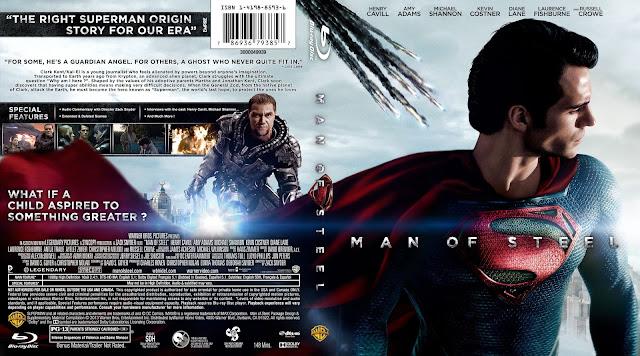 Capa Bluray Man Of Steel