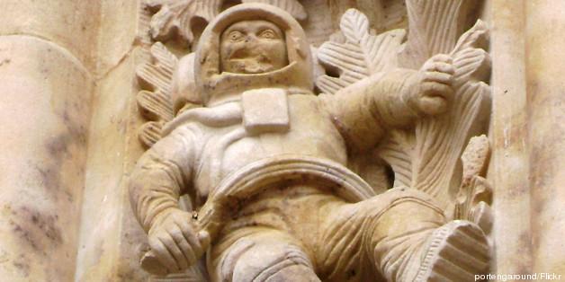 Ο περίεργος σκαλιστός αστροναύτης ηλικίας 500 ετών του ναού της Salamanca