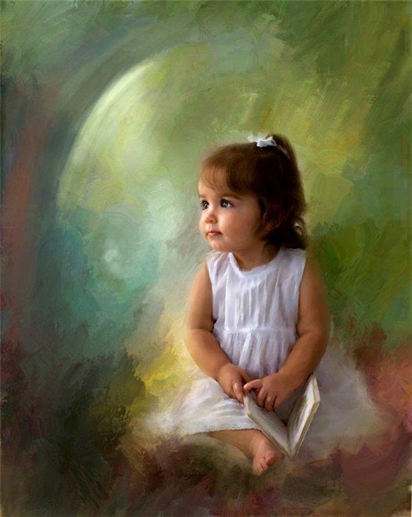 Assez Il mondo di Mary Antony: I ritratti di bambini di Richard Ramsey JP57