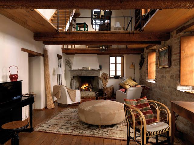 Rustik chateaux una casa rural llena de historia en italia for Salon medieval