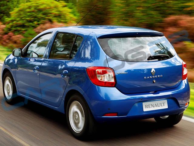 carro Sandero Renault 2014 - Novo Sandero 2014