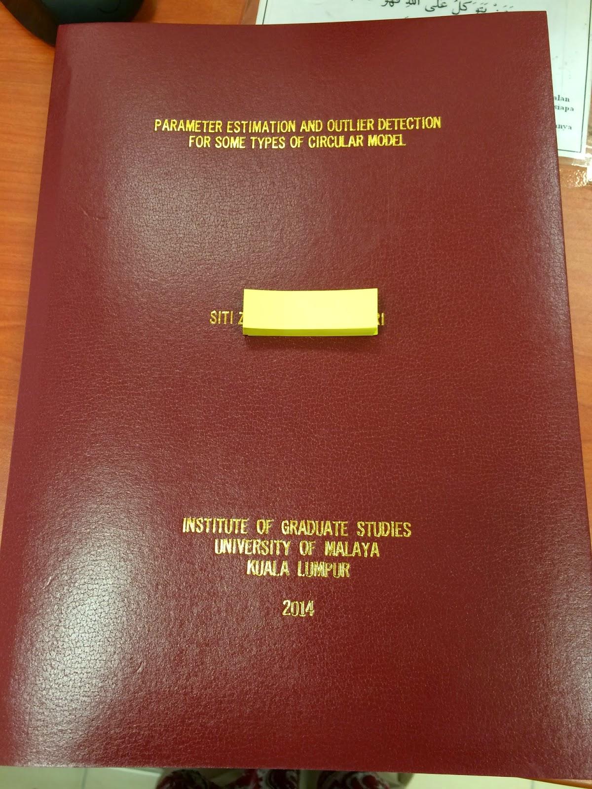 hardbound thesis