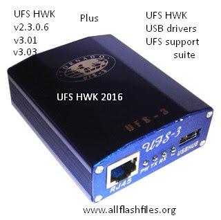 Download UFS HWK, UFS USB Drivers, and UFS Support Suite