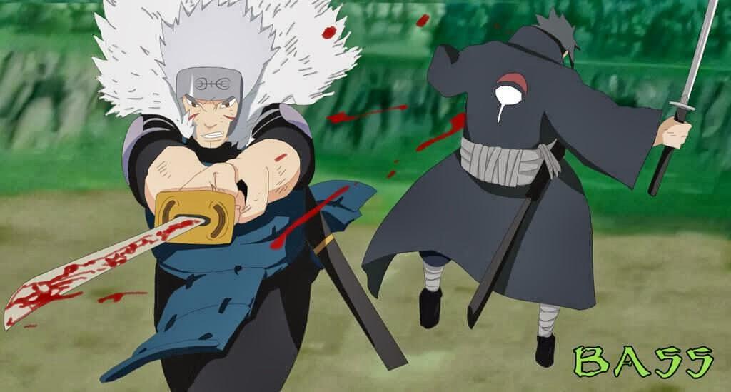 Tobirama Senju vs Uchiha Izuna  Uchiha Izuna Vs Tobirama Senju