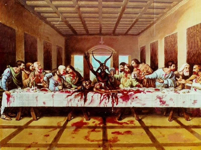 The Feast Of Satan Satanic Mojo