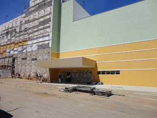 Nova entrada do Cariri Shopping.